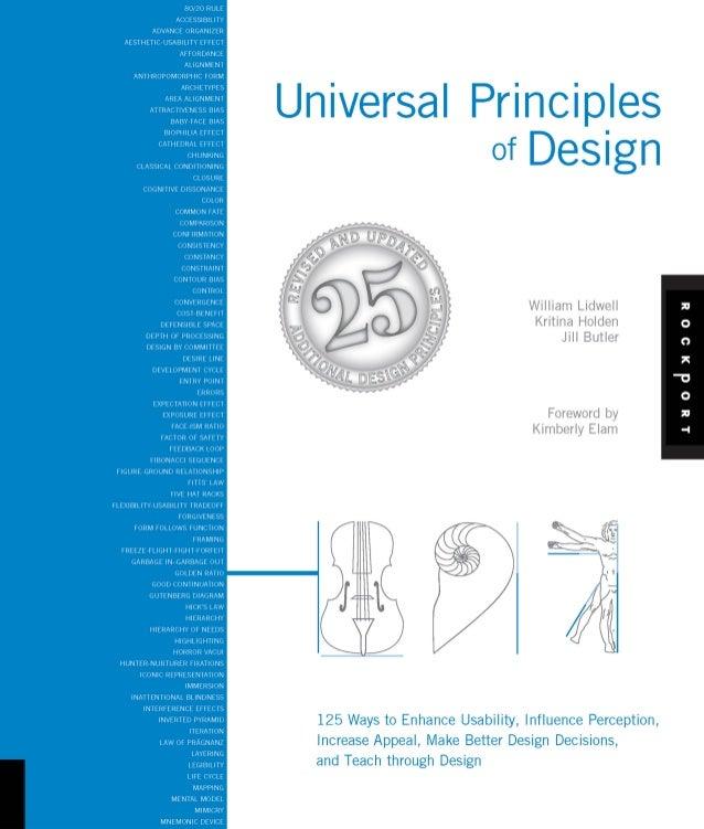 Universal Principles          of Design                                  William Lidwell                                  ...