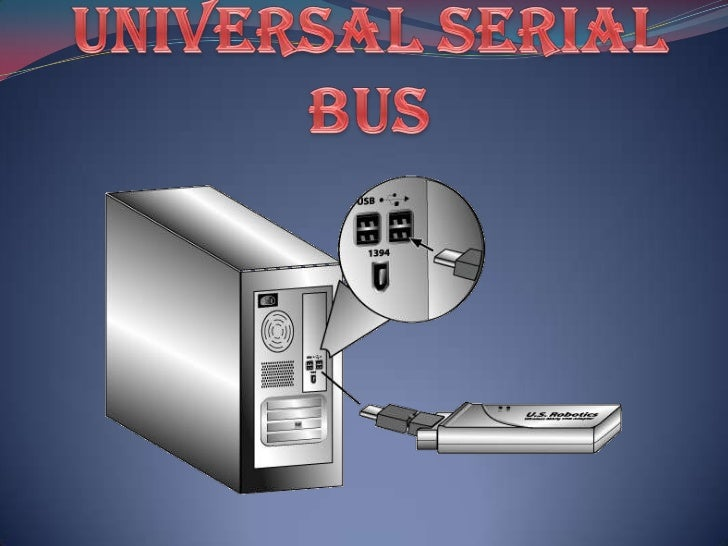 Universal serial bus<br />