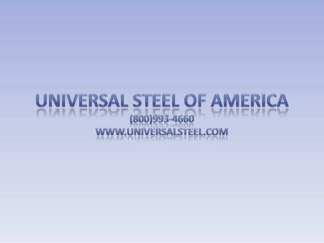 Universal steel of america williston pp