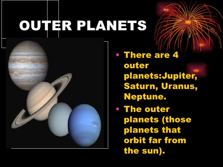 outer planets facts