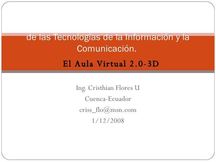 El Aula Virtual 2.0-3D