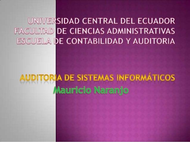  En   Auditoría ,existen normas que  regulan o guían el trabajo del auditor,  vienen a ser las bases de todo trabajo  de ...