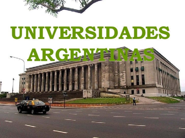 UNIVERSIDADES ARGENTINAS