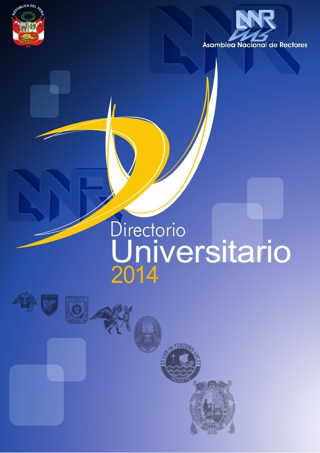 Universidades anr 2014