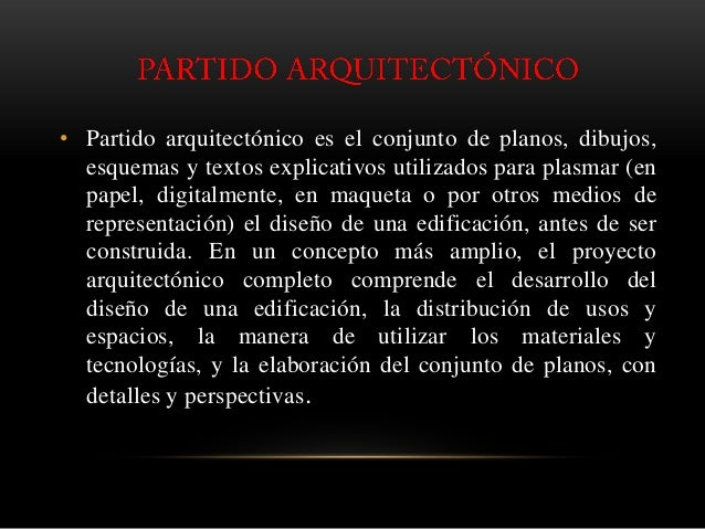 Partido arquitect nico for Que es arquitectonico wikipedia