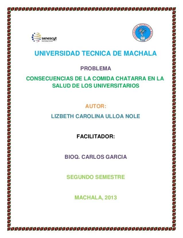 Universidad tecnica de machala proyecto de fep