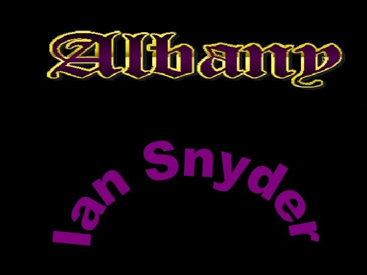Ian Snyder