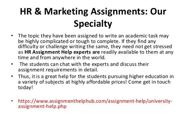University Assignment Help