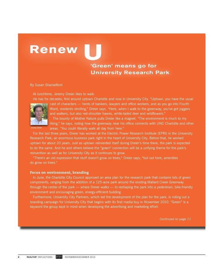 Renew                                           U    'Green' means go for                                                U...