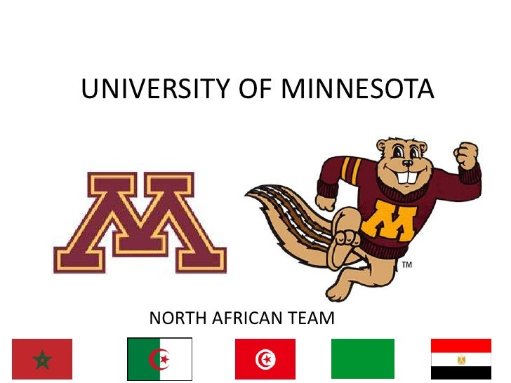 UNIVERSITY OF MINNESOTA<br />NORTH AFRICAN TEAM<br />
