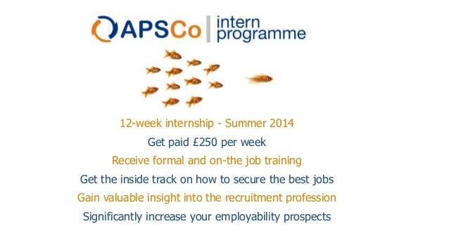 Step - APSCo Summer Intern Programme 2014