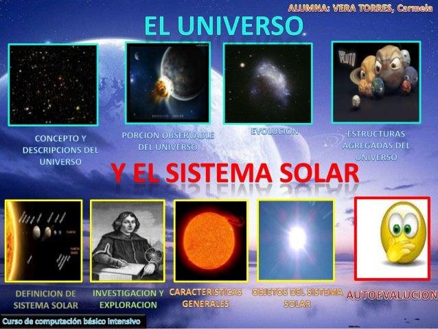 Universo y el sistema solar