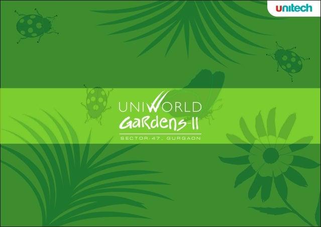 Unitech Uniworld Garden-II