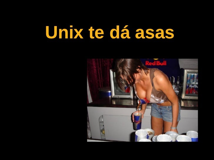 Unix te dá asas