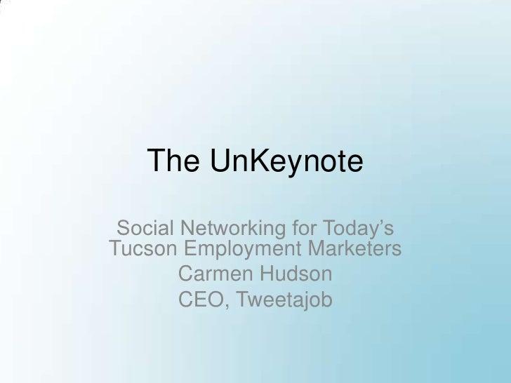 Un-Keynote