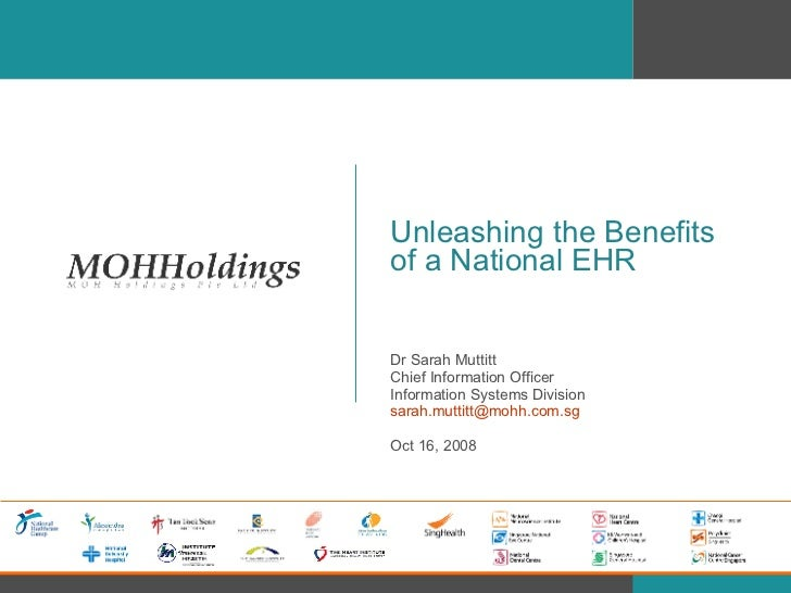 Unleashing the Benefits of a National EHR