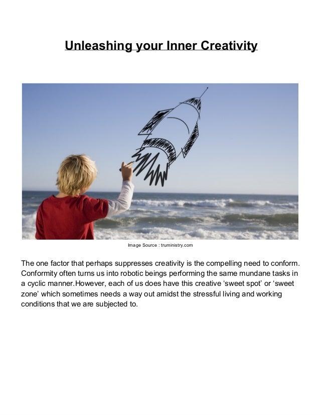 Unleashing your inner creativity