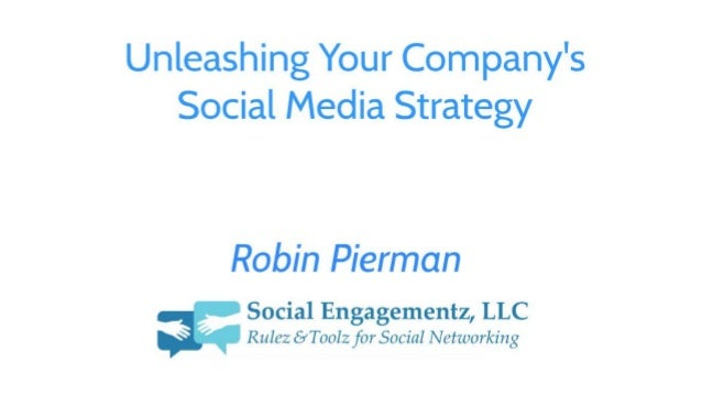 Unleashing your social media strategy