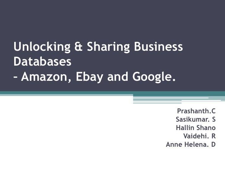 ebay case study slideshare It business dot com alibaba com case study extracted from alibabacom presentations.