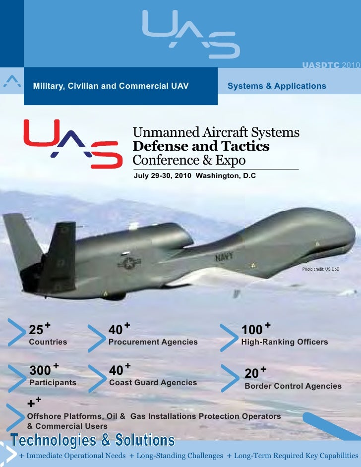 Unmanned aircraft systems defense and tactics conference