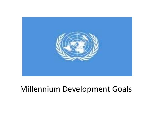 Un millenium development goals