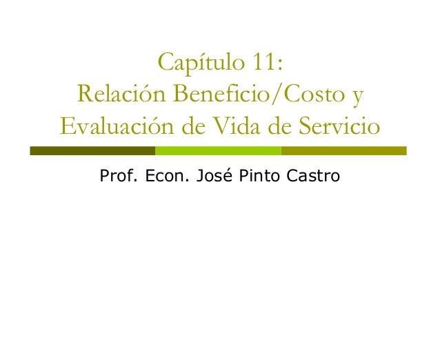 Unmsm fisi-11-ingeniería económica -capitulo 11-costo beneficio eval vida de servicio