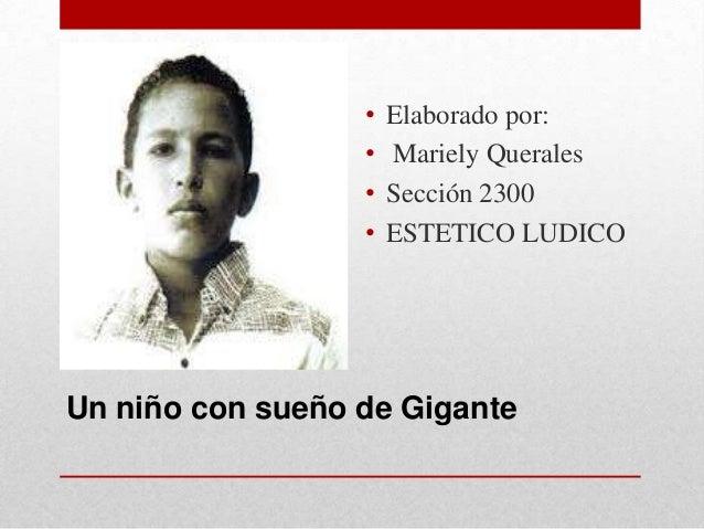 •   Elaborado por:                  •   Mariely Querales                  •   Sección 2300                  •   ESTETICO L...