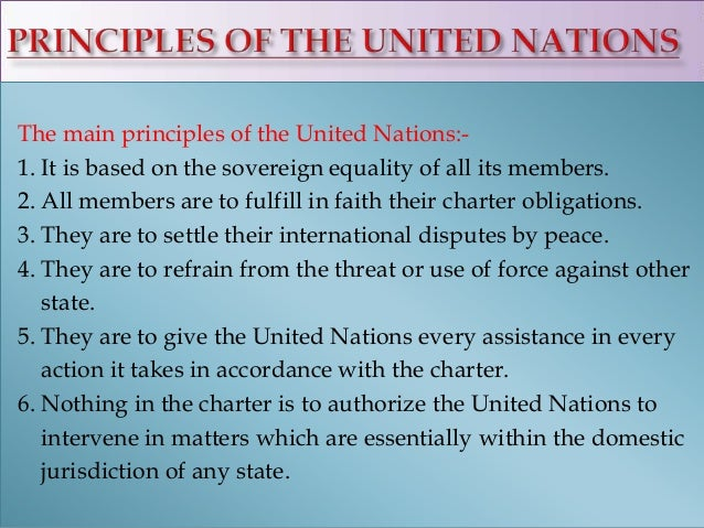 Free united nations essays and papers   123helpme