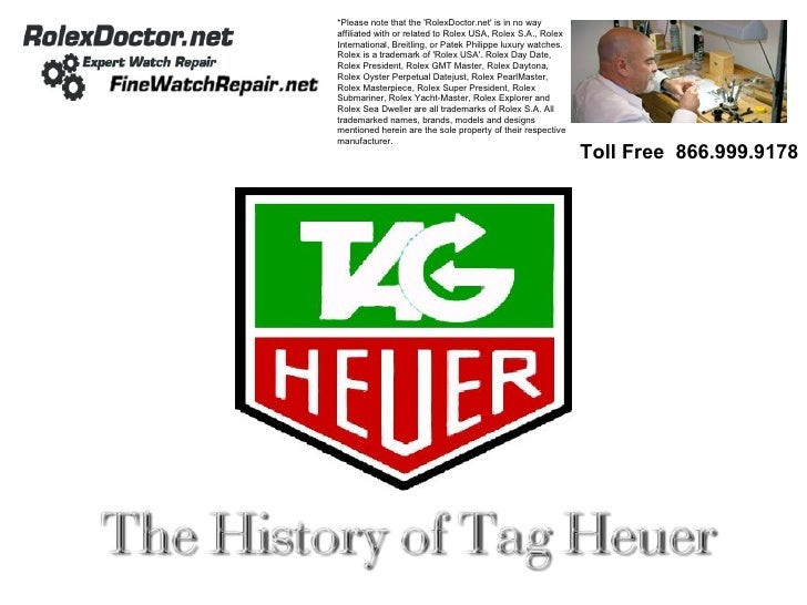 Unofficial History Of Tag Heuer
