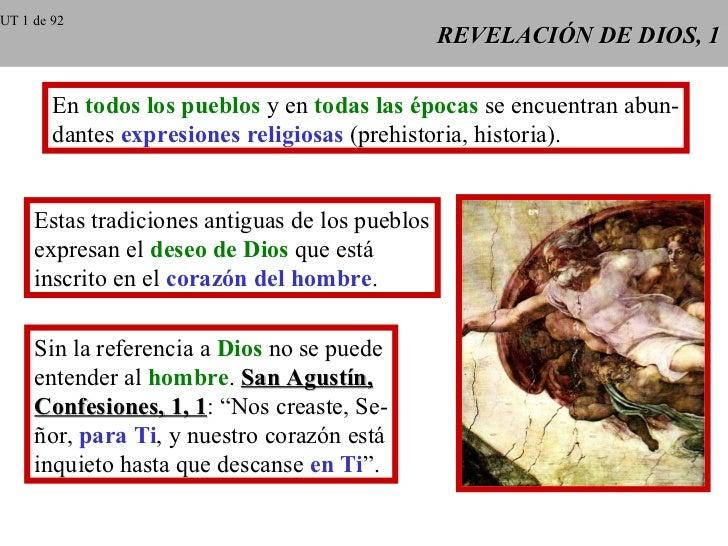 UT 1 de 92                                                 REVELACIÓN DE DIOS, 1        En todos los pueblos y en todas la...