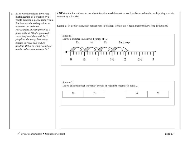 Fraction word problems worksheets fourth grade