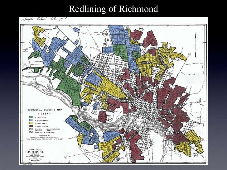 Redlining of Richmond