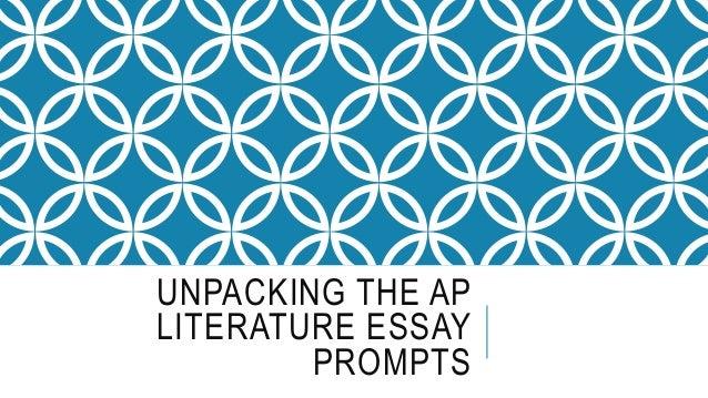 Ap english literature essay prompts