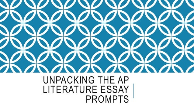 ap literature essay questions poetry Multiple-choice question stems from the ap literature exam 1 what is the author's attitude toward the subject of the essay 2 poetry questions a.