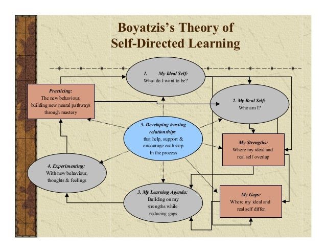 boyatzis theory of self directed learning Don't start with leadership biographies, start with theory - this is a great starting  place the thesis of goleman, boyatzis, and mckee's primal leadership is that it  is  self directed learning is a five step process that address who you want to be .