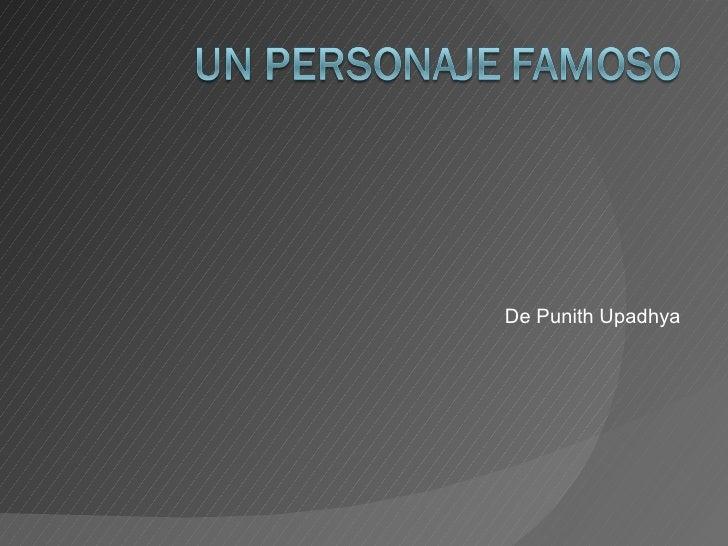 Un Personaje Famoso (Pablo Picasso)