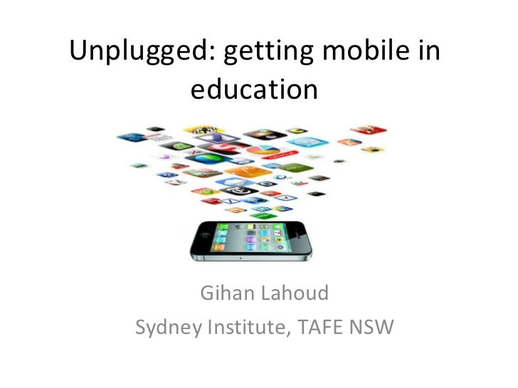 Unplugged mobile learning