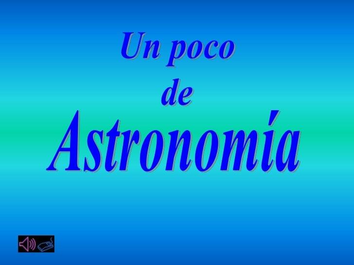 Un poco de_astronomia