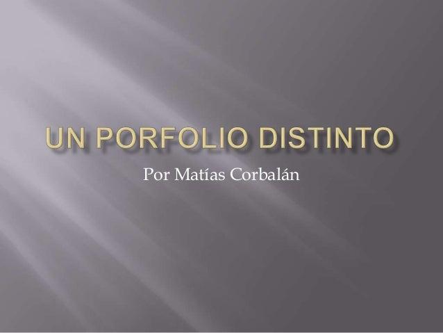 Por Matías Corbalán