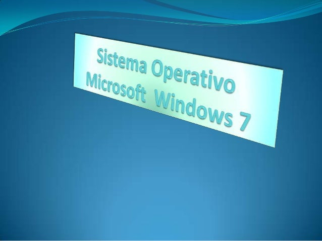 Un repaso con windows 7