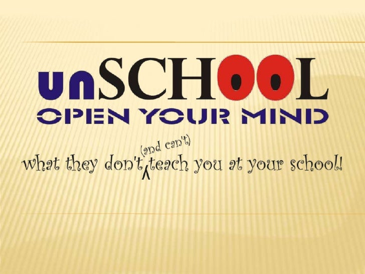 An Introduction to unSchool