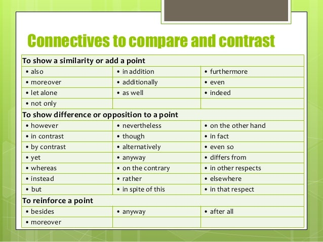 Compare and contrast poetry essay