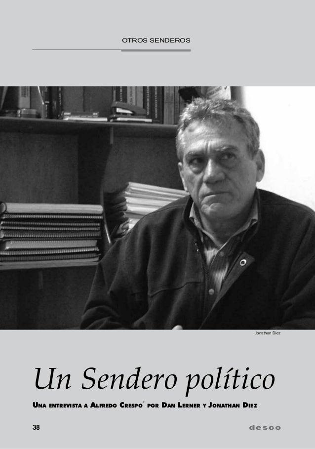otros Senderos                                                                          Jonathan DiezUn Sendero políticoUn...