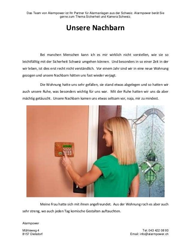 Das Team von Alarmpower ist Ihr Partner für Alarmanlagen aus der Schweiz. Alarmpower berät Sie gerne zum Thema Sicherheit ...