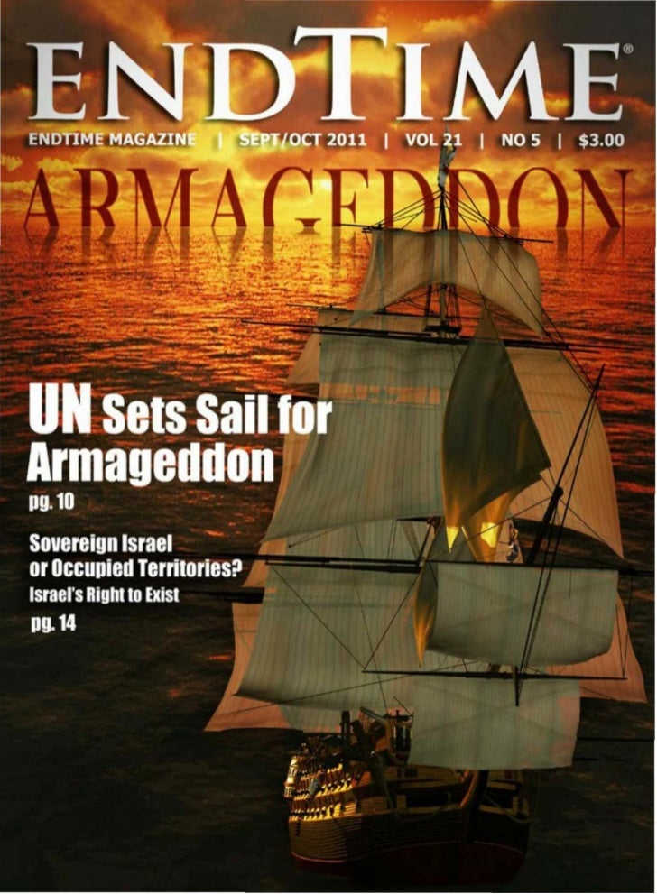 FEATURES              10 UN Sets Sail for Armageddon              By Irvin Baxter              The World Community set a g...