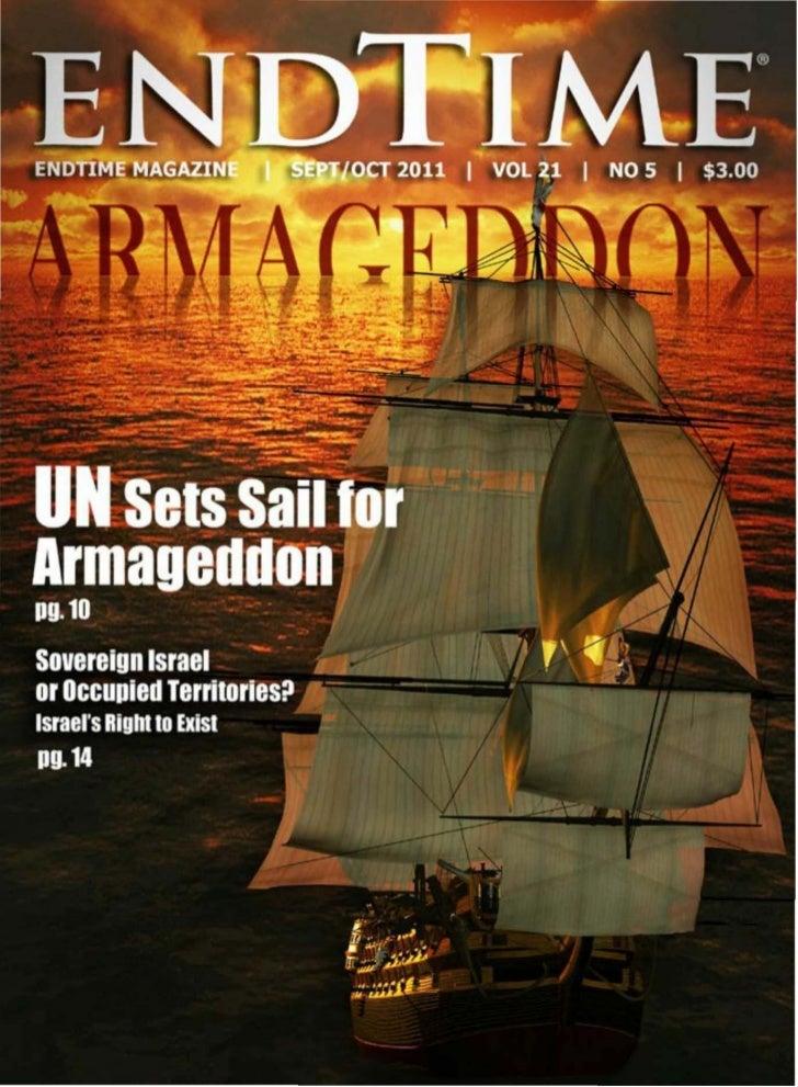 Un Sets Sail For Armageddon - Endtime Magazine - Sept-Oct 2011