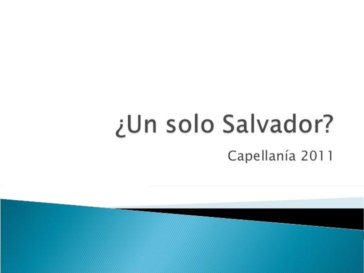 Capellanía 2011