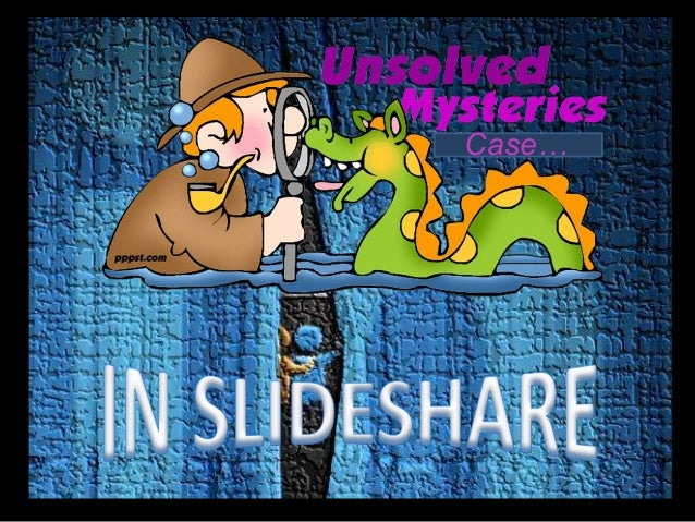 Unsolved Mystery in Slideshare