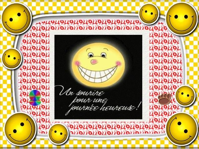 Un sourire humoristique