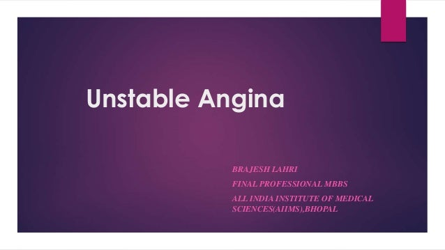 stable vs unstable angina pdf